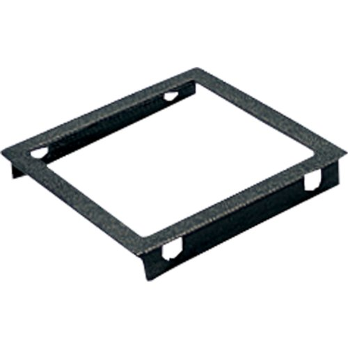 (Progress Lighting P8797-31 Top Cover Lenses For P5644 Square Adapts Up/Down Fixtures For Wet Location Use Heat and Shatter-Resistant Clear Tempered Lens with Black Trim, Black)