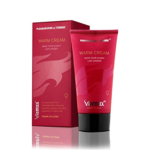 Viamax Warm Cream - Female Libido Enhancer and Intimate Cream That Increases Blood Flow, Circulation, Sensitivity and Natural Lubrication.