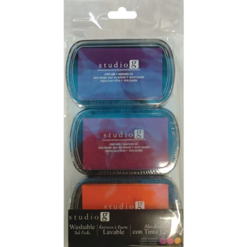 Hampton Art Washable Brights 3 Pack
