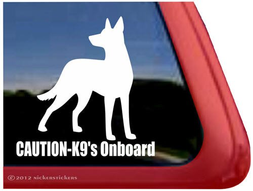 Caution Onboard%7E Shepherd Window Sticker