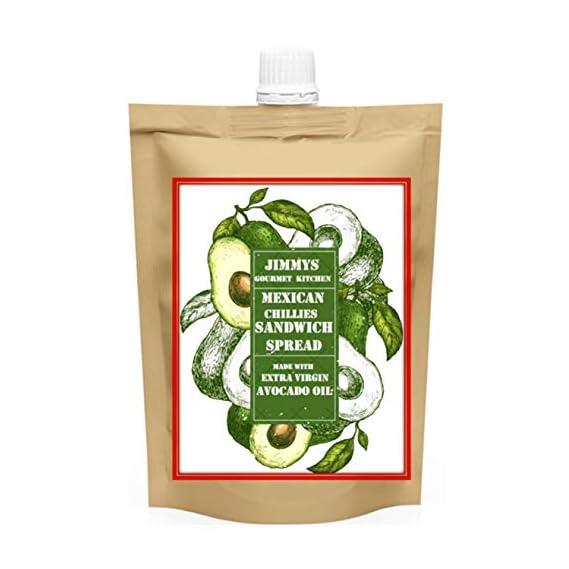 Jimmy's Gourmet Kitchen Avocado Oil Chipotle Habanero Aribol Chilis Sandwich Spread Mexican (225 g)