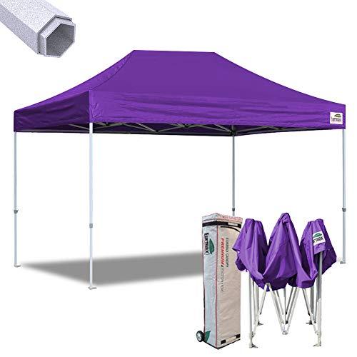 Eurmax 10x15 Ft Premium Ez Pop up Canopy Instant Shelter Out