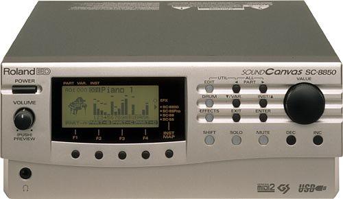 Roland Sc-8850 Sc8850 Sound Module