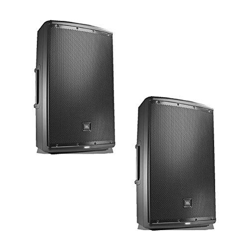 JBL EON 615 15 in Powered PA Speaker Pair Bundle by JBL