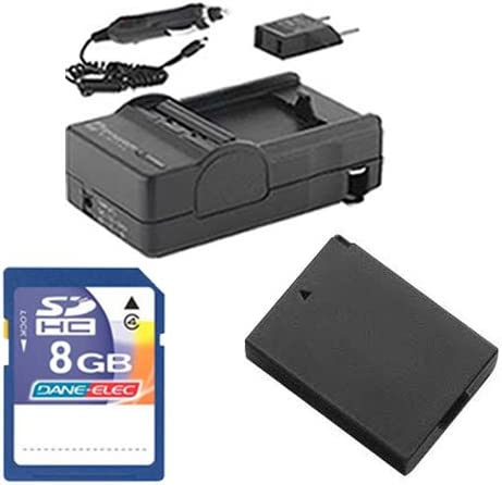 SDM-1539 Charger SDLPE10 Battery Canon EOS 1200D Digital Camera Accessory Kit Includes KSD48GB Memory Card