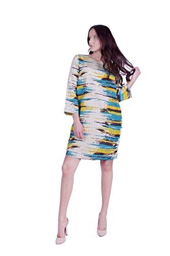Jacquard Kleid Stoff hochwertigem aus Basic Beige g8waqzxU