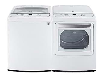 Amazon.com: LG High-Efficiency, lavadora con carga superior ...