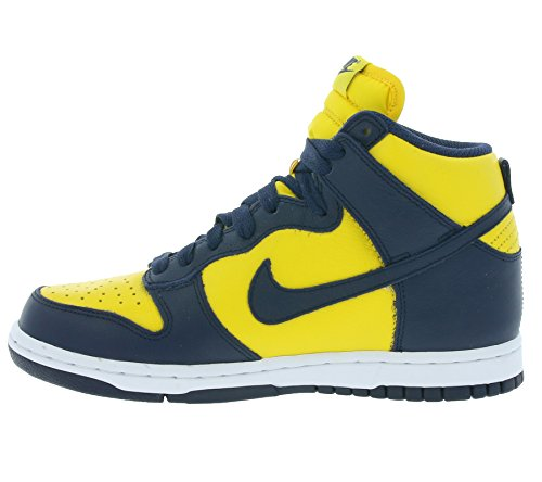 Shoes Maize Varsity QS Midnight 854340 Hi Dunk 700 Sneakers Top Nike Retro Womens Navy Trainers 4fSnFFzq