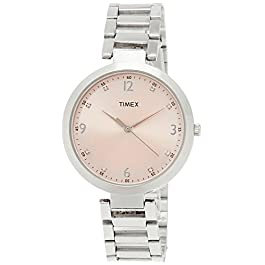 Timex Fashion Analog Pink Dial Women's Watch – TW000X201
