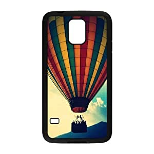 Samsung Galaxy S5 Cases, Girls Protective Big Ballon in the sky Cases For Samsung Galaxy S5 {Black}