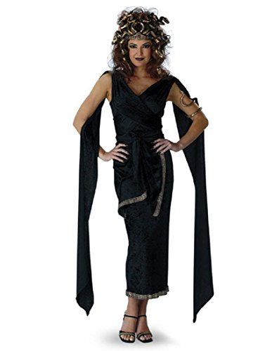 Medusa Adult Halloween Costume, Large (12-14), -