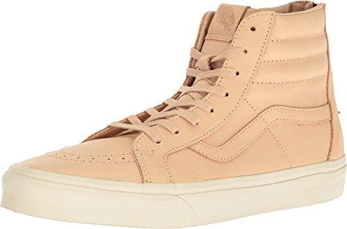 Vans Sk8 Hi Zip (Veggie Tan Leather) Men's 9.5 (Vans Sk8 Hi Zip)