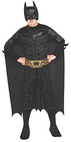 Batman Dark Knight Rises Child's Batman Costume with Mask and Cape - Large