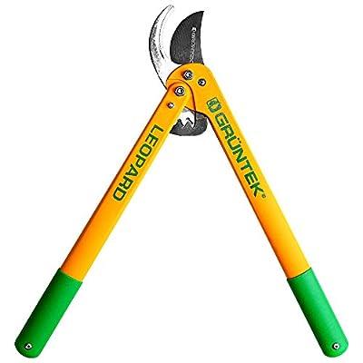 GRNTEK-Bypass-Lopper-LEOPARD-540-mm-Gear-Drive-pruning-shears-with-78-mm-blade-New-garden-pruner-90-day-warranty