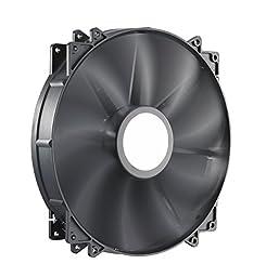 Cooler Master MegaFlow 200 - Sleeve Bearing 200mm Silent Fan for Computer Cases (Black)