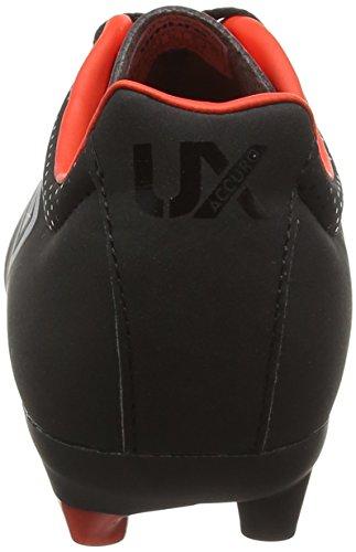 Umbro Ux Accuro Cl Hg, Zapatillas de Fútbol Entrenamiento para Hombre, Negro (Ecb-Black/Metallic/Grenadine), 42 EU