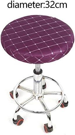 Armchairs Covers Chaise ronde Couverture Anti-Sale Covers Spandex Tabouret de bar Housse de Chaise (Color : B 4) B 4