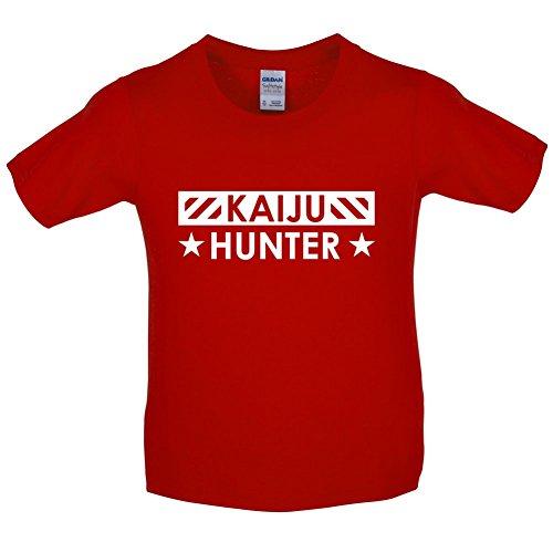 dressdown-kaiju-hunter-childrens-kids-t-shirt-red-m-7-8-years