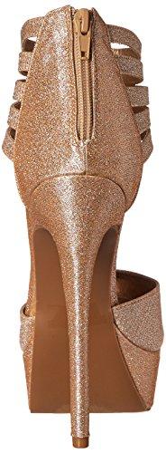 Qupid Women's Ravish-96 Dress Pump Champagne n1tVghw2