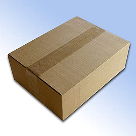 100 de pared Simple cajas de embalaje de 12 x 9 x 4 cm (305