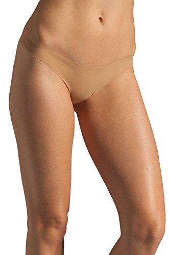 Commando Tiny Thong Panty (Commando Better Than Nothing Tiny Thong TT01 Dark Nude M L)