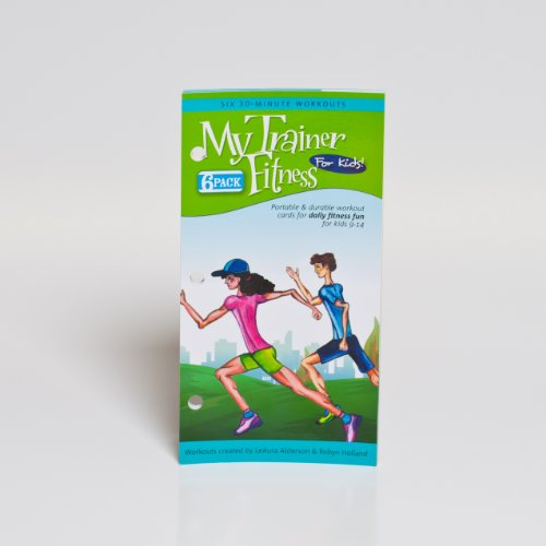 My Trainer Fitness for Kids Workouts 6 Pack of six complete workouts-to-go by My Trainer Fitness