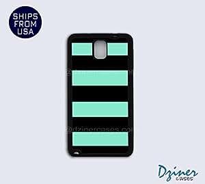 Galaxy Note 3 Case - Green Black Stripes