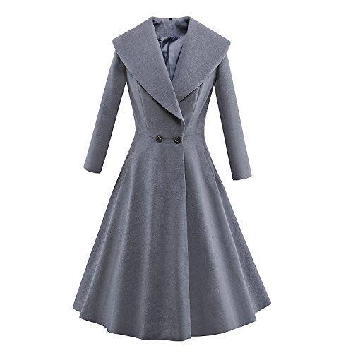 vintage pea coat - 7