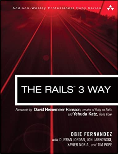 The rails 3 way 2nd edition addison wesley professional ruby the rails 3 way 2nd edition addison wesley professional ruby series obie fernandez 0785342601664 amazon books fandeluxe Images