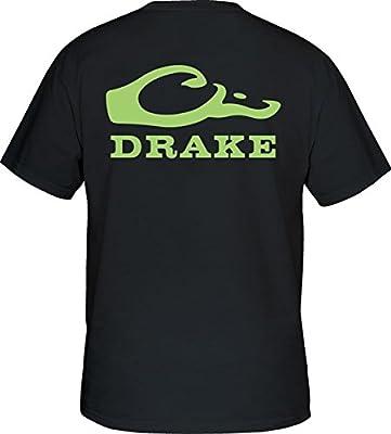 Drake Waterfowl Duck Head Short Sleeve Logo T-Shirt