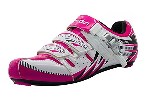 Riding Women's LIVEINU Shoe Pink Shoes Bike Road tAtwWqpd