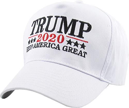 Make America Great Again - Donald Trump 2016 Campaign Cap Hat (018) White