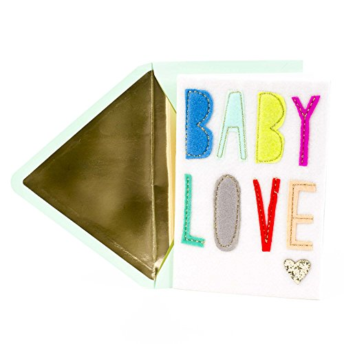 Hallmark Signature New Baby Congratulations Greeting Card (Baby Love)