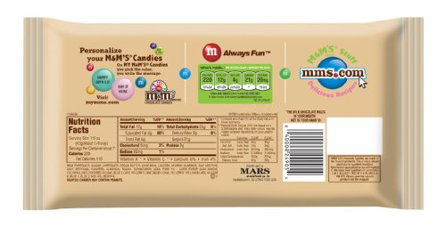 M&M'S Almond Chocolate Candy 9.9-Ounce Bag (Pack of 6) by M&M'S (Image #1)