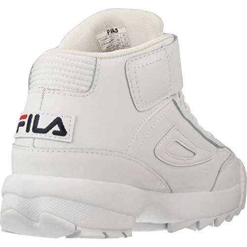 D2 Mid FilaBasket 1fg Femme White Disruptor Wmn Blanc xQodBeCWEr