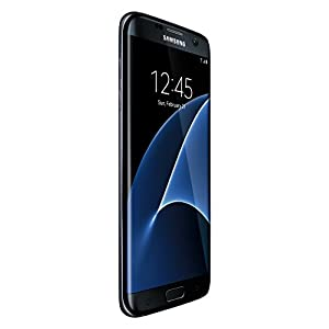 Samsung Galaxy S7 Edge G935F Factory Unlocked Phone 32 GB, No Warranty - International Version (Black Onyx)