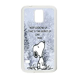 Snoopy Hard Case Cover Skin For Samsung Galaxy S5 KHR-U1570624
