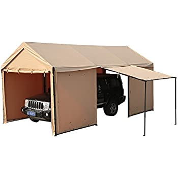 Amazon.com : TopCamp 10x20 ft Pop up Canopy Tent Carport ...