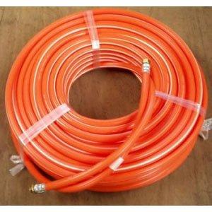 動噴用ホース(農業用スプレーホース) φ8.5×100m ISO金具付 B00JM8P376