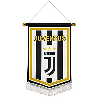 HZIJUE Juventus F.C Indoor Outdoor Decoration Hanging Flags Bar Club Bedroom Triangle Flag