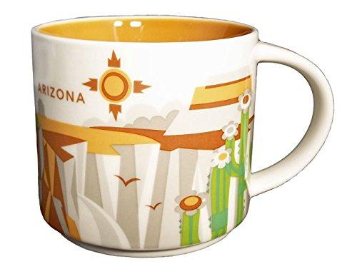 Starbucks You Are Here Series 2013 Arizona Coffee Mug (011024667) (Canyon Coffee)