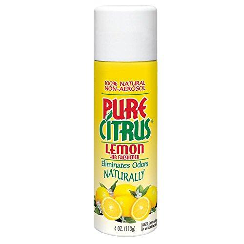 (Pure Citrus NA230 Lemon All-Natural Non-Aerosol Odor Eliminator 4. Fluid_Ounces)
