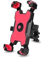 Fesjoy Quick Lock cykel mobilhållare 360° rotation justerbar motorcykel telefonhållare backspegel telefonhållare kompatibel med mountainbike racercykel