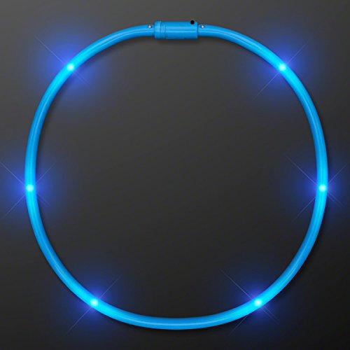 HAPPY NEW YEAR 2017! Blue Flashing Light Up LED Tube Necklaces - USA SELLER- FAST - Macy's Today Offers