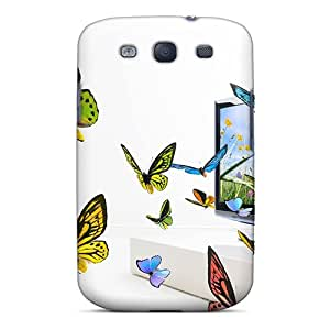 Durable Case For The Galaxy S3- Eco-friendly Retail Packaging(3d Lg)