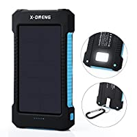 Solar Chargers,X-DNENG 10000mAh Portable...