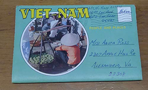 Vietnam People and Places Fold Out Views Postcard Folder JA455301