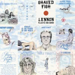 John Lennon Plastic Ono Band Shaved Fish Amazon Com Music