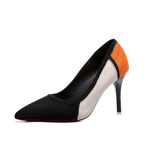 tacco Thirty Shallowly scarpe donna delle six da alto esili HHqwr57T