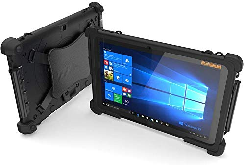 MOBILEDEMAND Flex-10A Windows 10 Tablet | Intel Core 10 Inch Tablet Military Grade Rugged Tablet & Drop Tested Case 8-Hour Li-Ion Battery Tablet Computer 1280×800 4GB-RAM 64GB-HD 5MP-Camera